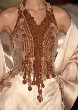 Franck Sorbier Fall 2004 Haute Couture Detail 0002
