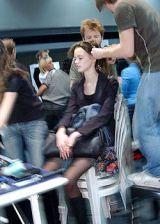 Martine Sitbon Fall 2004 Ready-to-Wear Backstage 0003