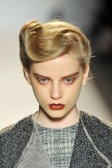 LELA ROSE FALL 2012 RTW BEAUTY 001