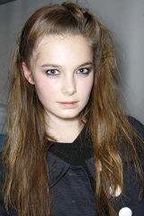 Hair, Lip, Cheek, Brown, Hairstyle, Chin, Forehead, Eyebrow, Photograph, Eyelash,