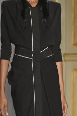 Collar, Sleeve, Textile, Joint, Standing, Formal wear, Dress, Fashion, Jacket, Black,