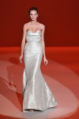 Clothing, Dress, Shoulder, Textile, Red, Photograph, Joint, White, Formal wear, One-piece garment,