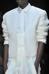 Clothing, Dress shirt, Collar, Sleeve, Textile, White, Standing, Formal wear, Uniform, Fashion,