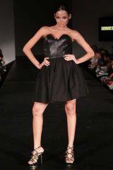 Clothing, Leg, Dress, Shoulder, Human leg, Photograph, Joint, Formal wear, One-piece garment, Style,