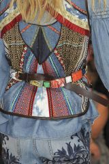 Blue, Sleeve, Textile, Style, Pattern, Fashion, Electric blue, Street fashion, One-piece garment, Costume design,