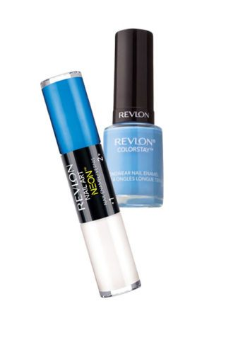 revlon blue nail polish