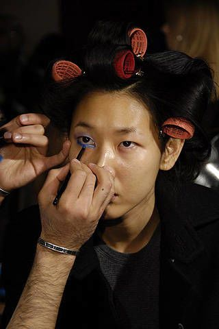 Proenza Schouler Fall 2008 Ready-to-wear Backstage - 002