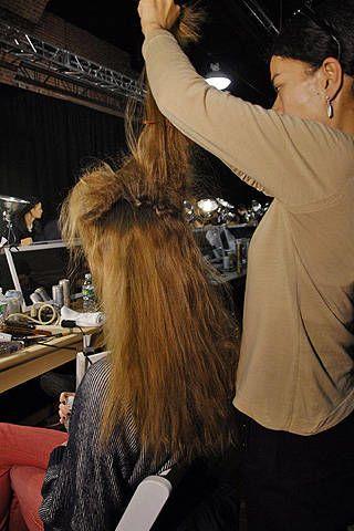Derek Lam Fall 2008 Ready-to-wear Backstage - 003