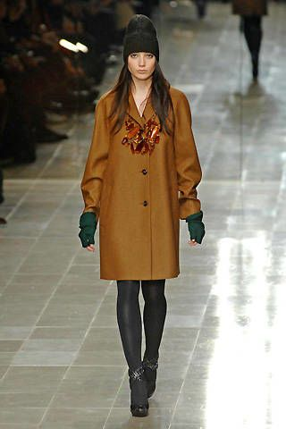 Burberry Prorsum Fall 2008 Ready-to-wear Collections - 002