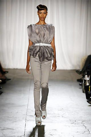 Christian Siriano Spring 2009 Ready-to-wear Collections - 003