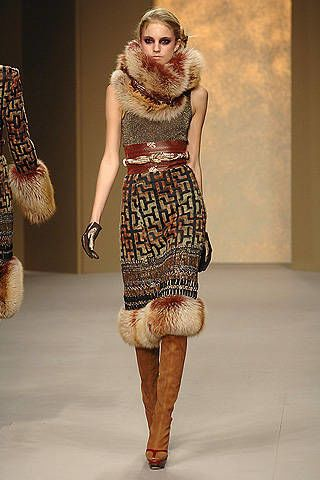 Pollini by Rifat Ozbek Fall 2008 Ready-to-wear Collections - 002