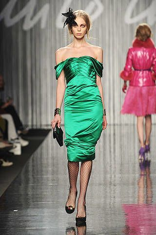 Enrico Coveri fall fashion 2009