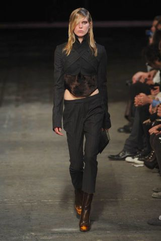 Clothing, Fashion show, Joint, Outerwear, Runway, Style, Fashion model, Fashion, Beauty, Thigh,