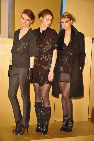 Clothing, Face, Footwear, Brown, Sleeve, Outerwear, Style, Boot, Thigh, Knee-high boot,