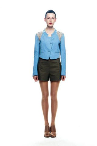 Clothing, Brown, Sleeve, Collar, Shoulder, Textile, Human leg, Joint, White, Style,