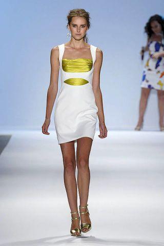 Clothing, Hair, Leg, Human, Fashion show, Hairstyle, Human body, Skin, Human leg, Shoulder,