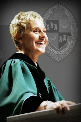Ellen Degeneres Tulane
