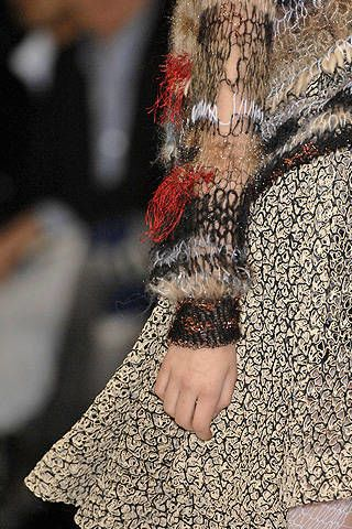 Rodarte Fall 2008 Ready-to-wear Detail - 002