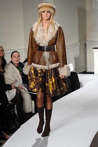Oscar De La Renta Fall 2008 Ready-to-wear Collections - 002
