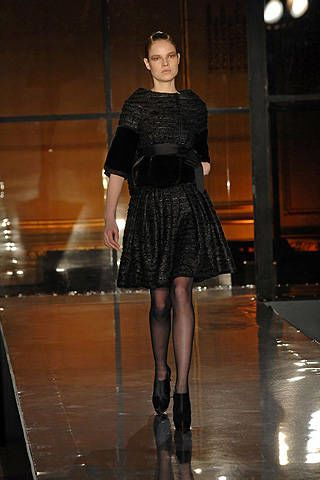 J. Mendel Fall 2008 Ready-to-wear Collections - 003
