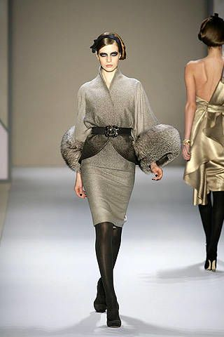 Monique Lhuillier Fall 2008 Ready&#45&#x3B;to&#45&#x3B;wear Collections &#45&#x3B; 003