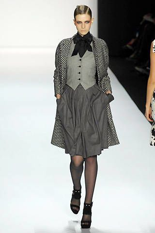 Bill Blass Fall 2008 Ready-to-wear Collections - 003