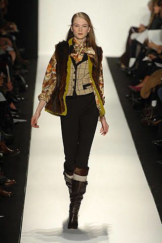 Carolina Herrera Fall 2008 Ready-to-wear Collections - 002