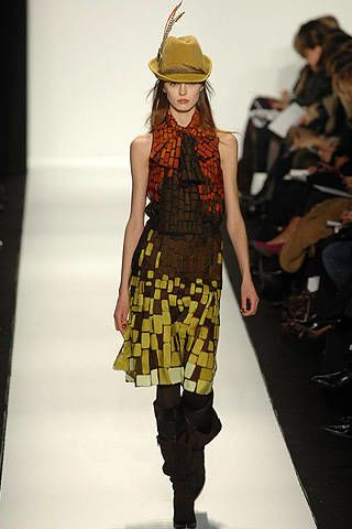 Carolina Herrera Fall 2008 Ready-to-wear Collections - 003