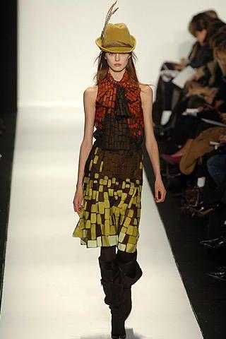 Carolina Herrera Fall 2008 Ready-to-wear Collections - 003