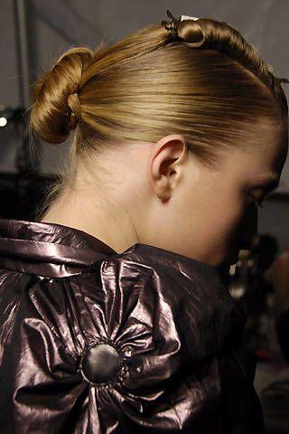 Bill Blass Fall 2008 Ready&#45&#x3B;to&#45&#x3B;wear Backstage &#45&#x3B; 002