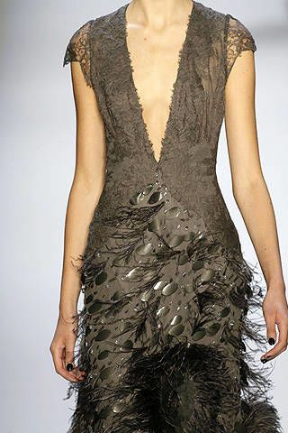 Monique Lhuillier Fall 2008 Ready-to-wear Detail - 002