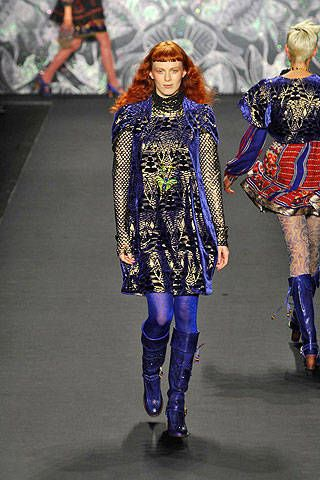 Anna Sui Fall 2008 Ready-to-wear Collections - 002