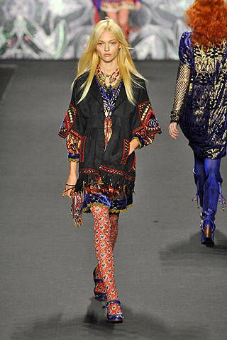 Anna Sui Fall 2008 Ready-to-wear Collections - 003