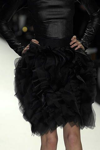 Project Runway Christian Siriano Fall 2008 Ready-to-wear Detail - 003