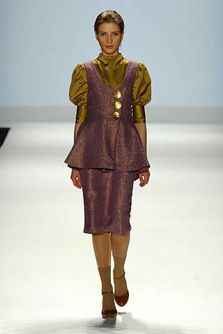 Project Runway Sweet P Fall 2008 Ready-to-wear Collections - 002