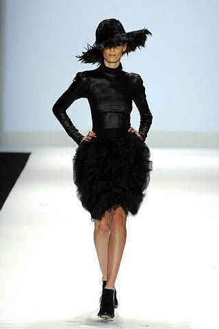 Project Runway Christian Siriano Fall 2008 Ready-to-wear Collections - 002