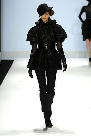 Project Runway Christian Siriano Fall 2008 Ready-to-wear Collections - 003