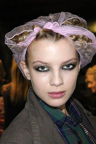 Allegra Hicks Fall 2008 Ready-to-wear Backstage - 002