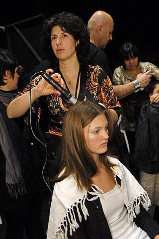 Missoni Fall 2008 Ready-to-wear Backstage - 002