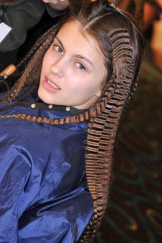 Julien Macdonald Fall 2008 Ready-to-wear Backstage - 002