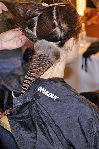 Julien Macdonald Fall 2008 Ready-to-wear Backstage - 003