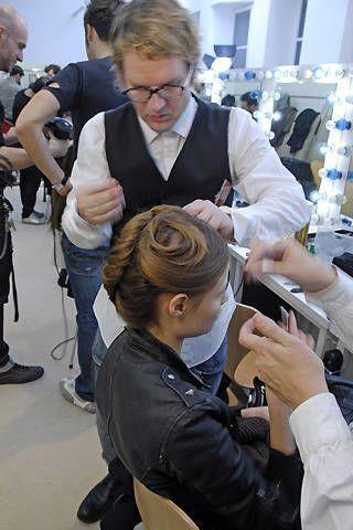Jil Sander Fall 2008 Ready-to-wear Backstage - 003