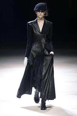Yohji Yamamoto Fall 2008 Ready-to-wear Collections - 003