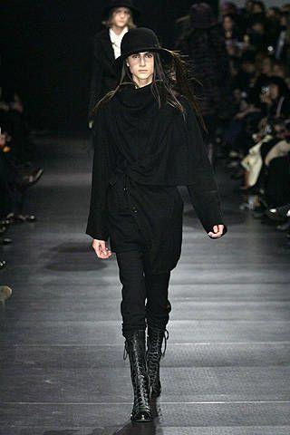 Ann Demeulemeester Fall 2008 Ready&#45&#x3B;to&#45&#x3B;wear Collections &#45&#x3B; 002