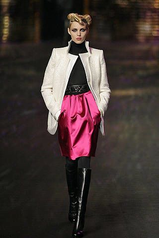 Christian Lacroix Fall 2008 Ready-to-wear Collections - 002