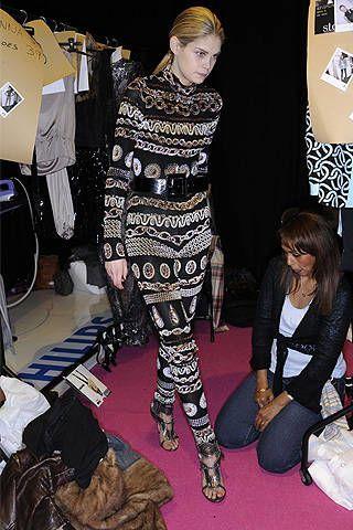 Ben de Lisi Fall 2008 Ready-to-wear Backstage - 003