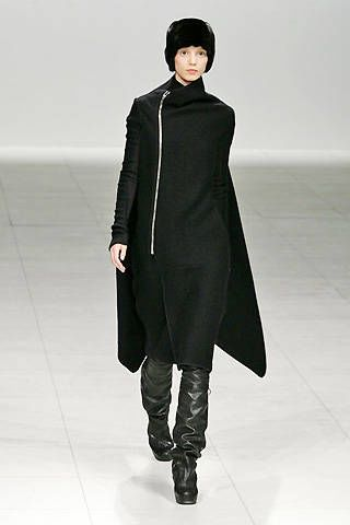 Rick Owens Fall 2008 Ready-to-wear Collections - 002