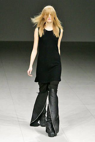 Rick Owens Fall 2008 Ready-to-wear Collections - 003