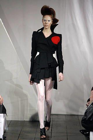 Ana Sekularac Fall 2008 Ready-to-wear Collections - 002