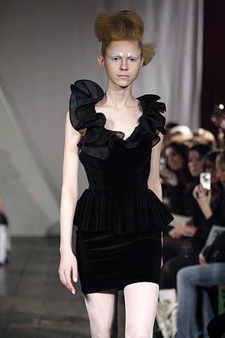 Ana Sekularac Fall 2008 Ready-to-wear Collections - 003